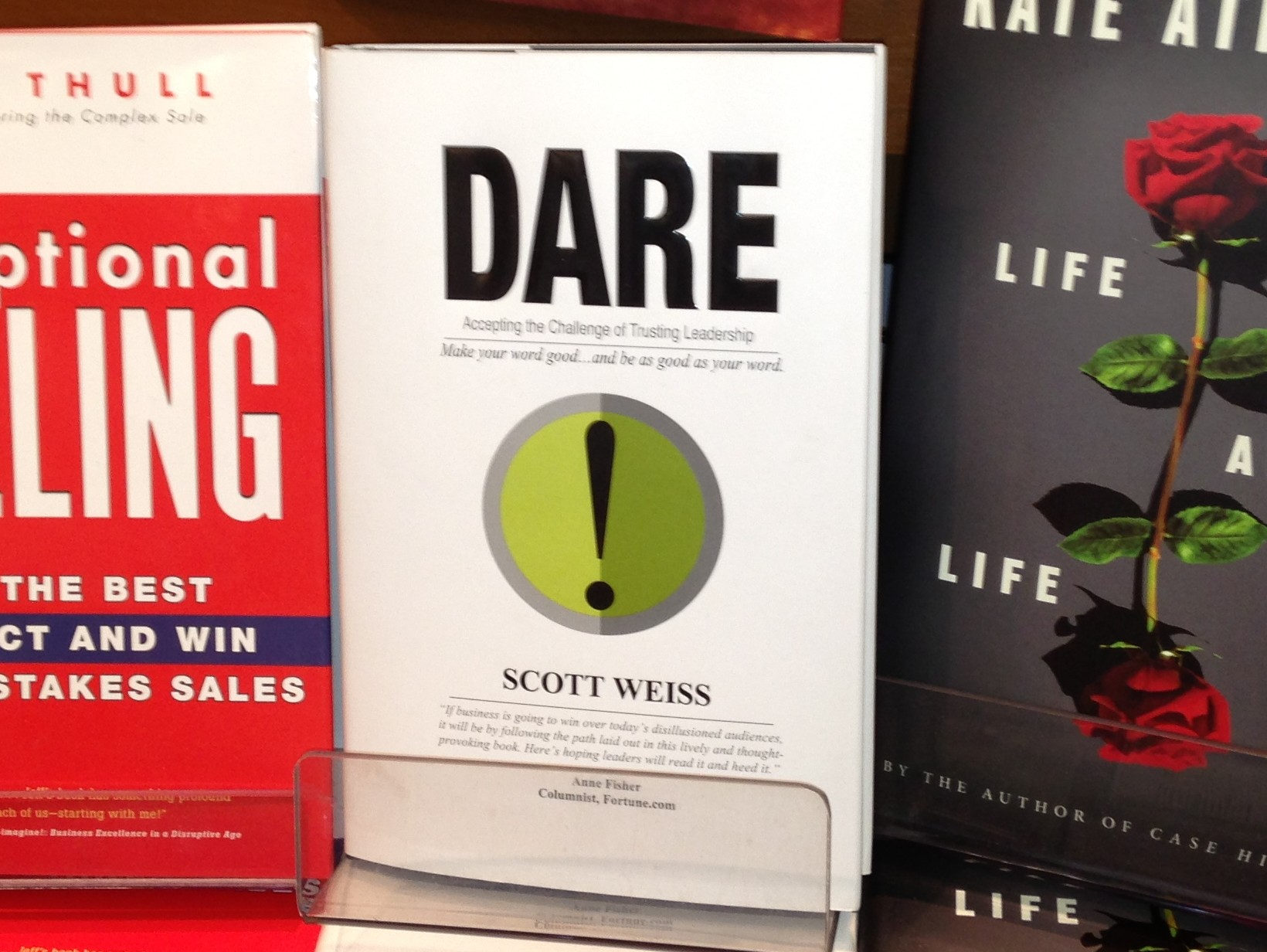 """W2M takes DARE from Scott Weiss for a """"best-seller"""""""