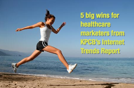 5 Big Wins for Healthcare Marketers from Mary Meeker's KPCB Internet Trends Report
