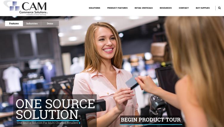 CamCommerce Website