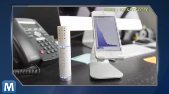 NODE's New Carbon Dioxide Sensor Scores a Mashable Video