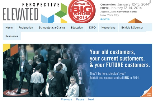 """Retail public relations helps support clients at NRF's """"Big Show"""" in New York"""