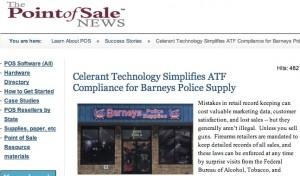 Celerant Technology Goes Beyond Retail Management For Sensitive ATF Compliance