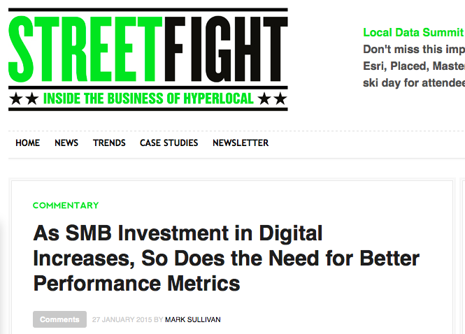 CallRail flexes their industry insight muscles in StreetFight.