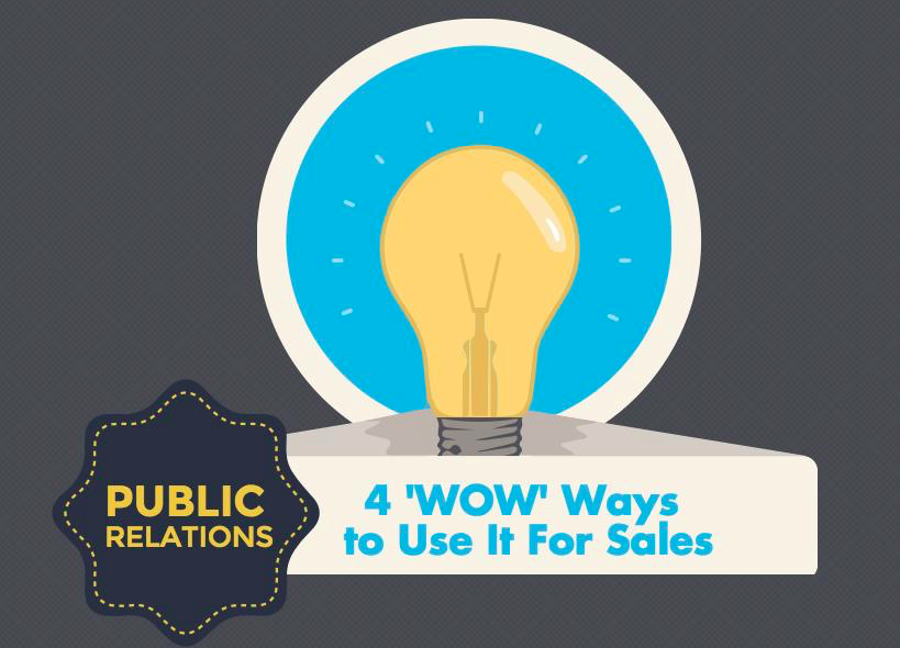Public Relations: 4 Killer Ways to Use It for Sales