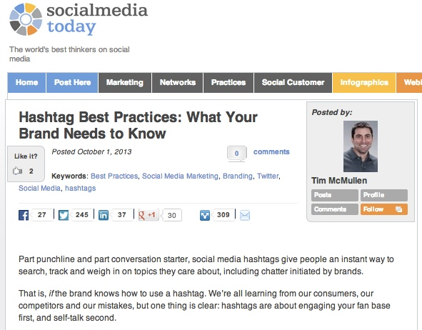 Hashtag Savvy and Tech PR Expertise Land a Social Media Splash
