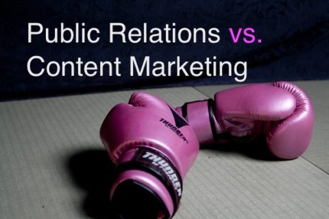 content marketing, public relations, PR