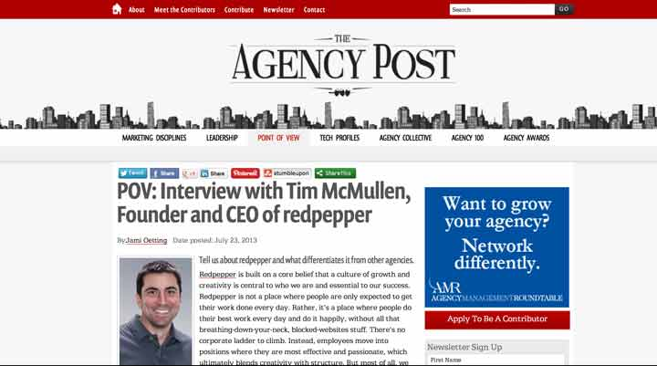 Tech PR – Agency Post Interview With Redpepper CEO