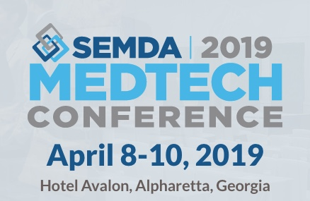 Three reasons medtech investors, innovators and service providers should attend the SEMDA 2019 Medtech Conference, April 8-10 in Atlanta