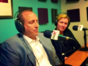 tif and andrew at healthconradio